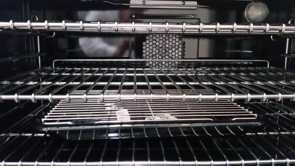 Gas Oven Interior