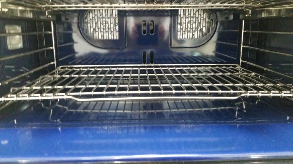 image of Wolf DF304 range oven interior