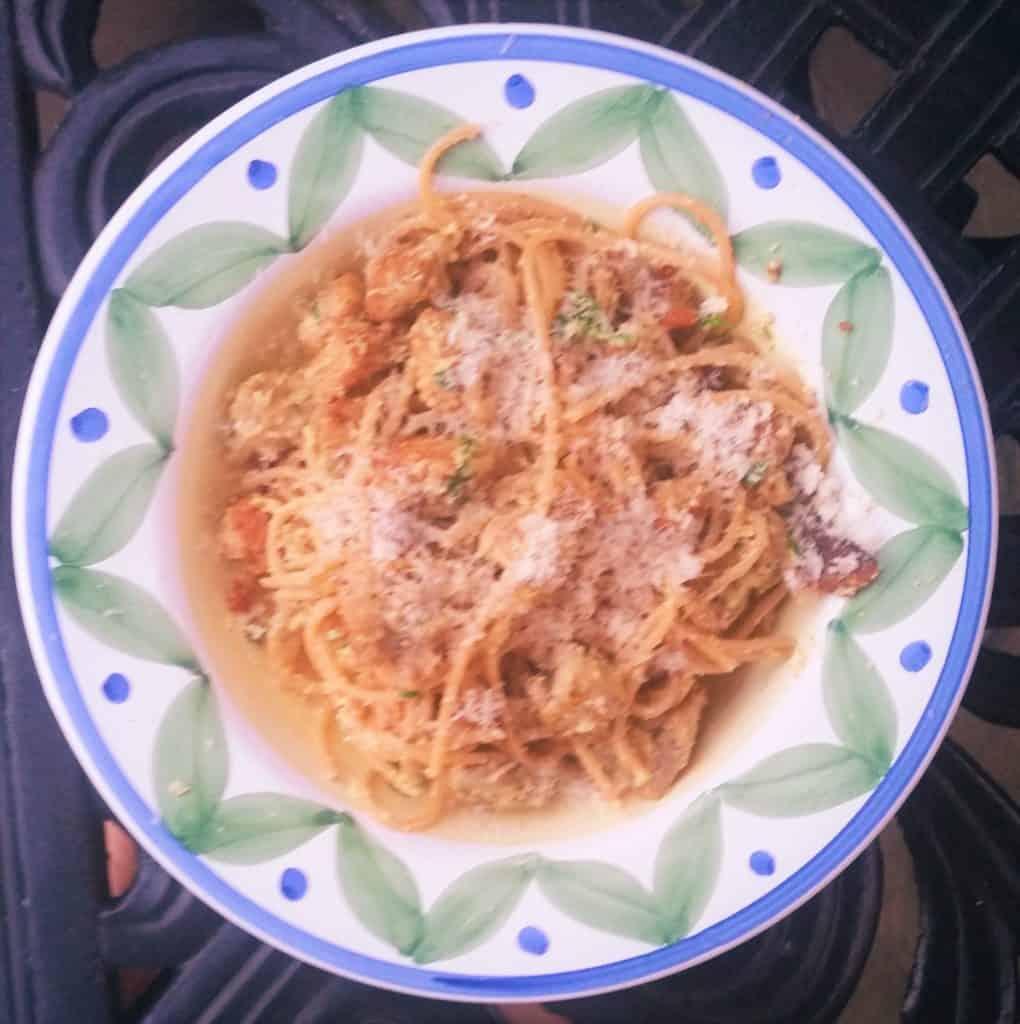 image of Spaghetti alla Carbonara ready to serve