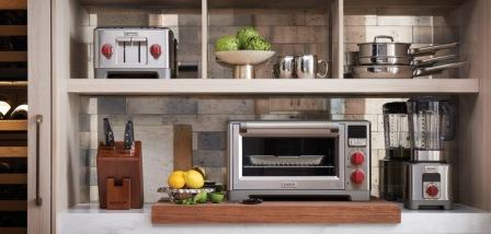 image of Wolf Gourmet toaster, cookaware, countertop oven and blender
