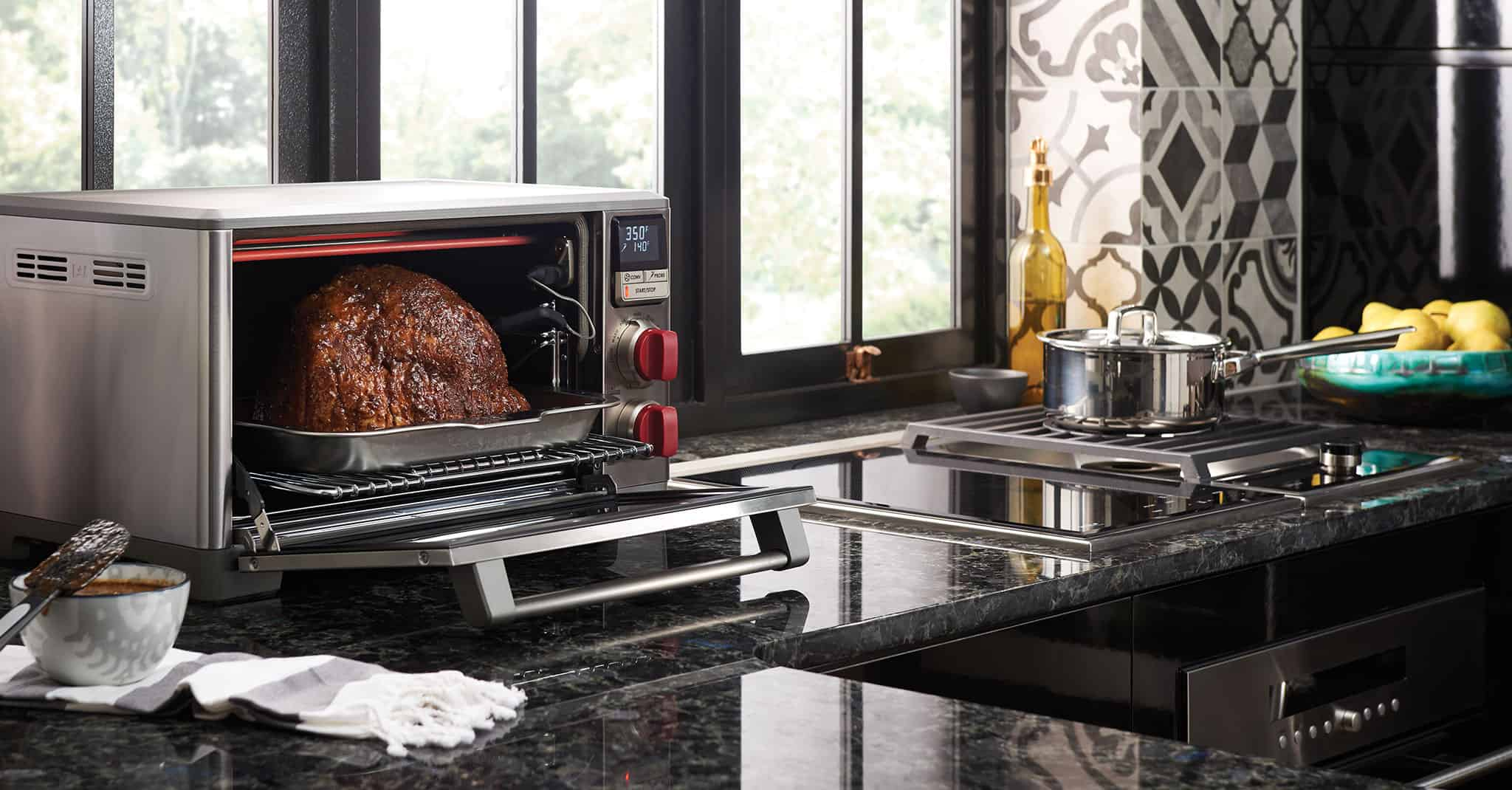 how to use countertop convection oven