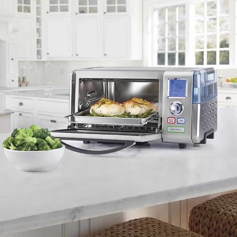 image of Cuisinart CSO-300N1 with oven door open