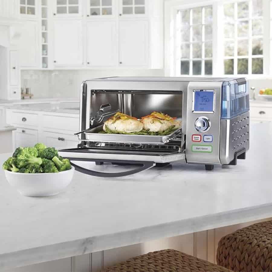 image of Cuisinart CSO-300N1 with oven door open