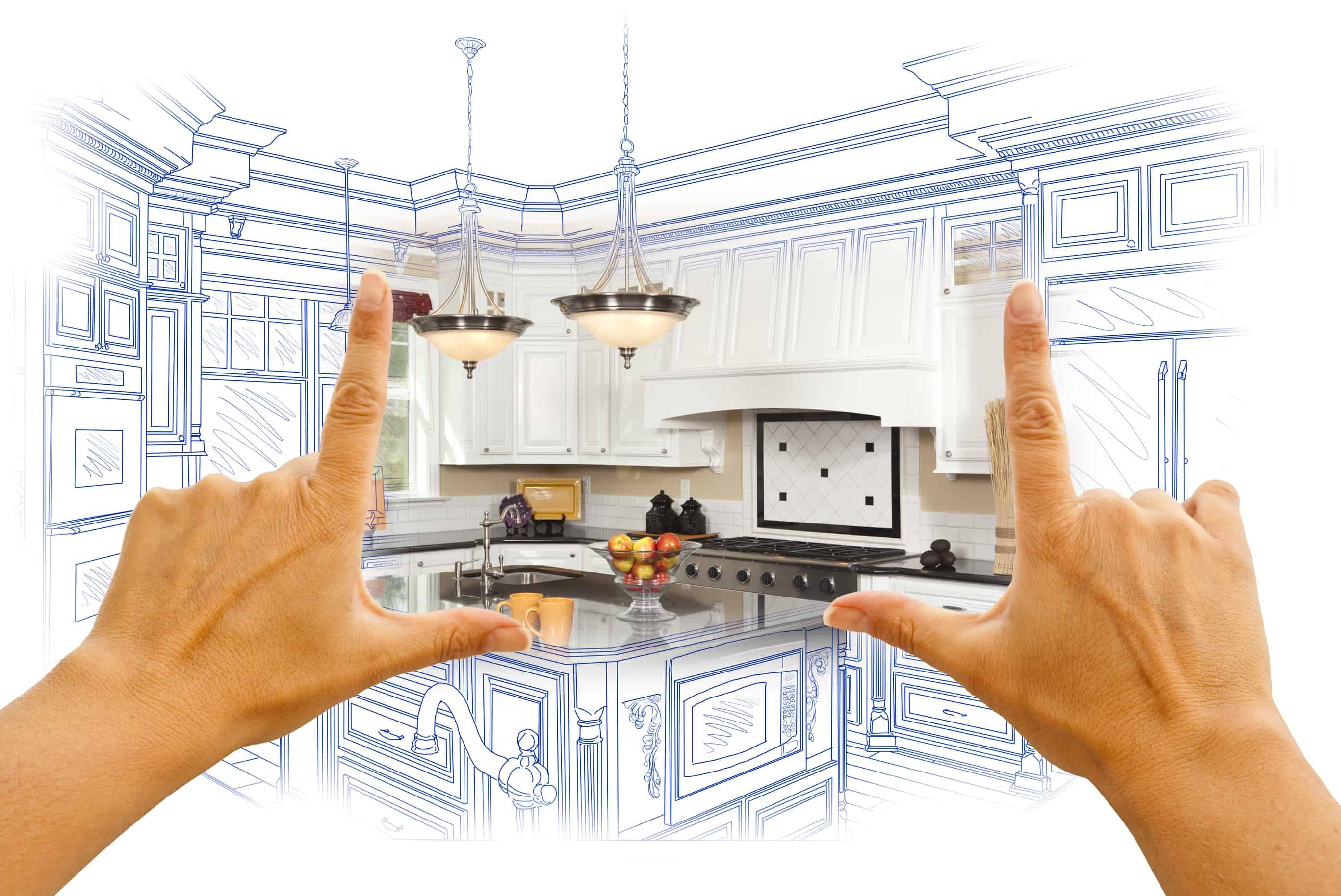 image of Kitchen Rendering