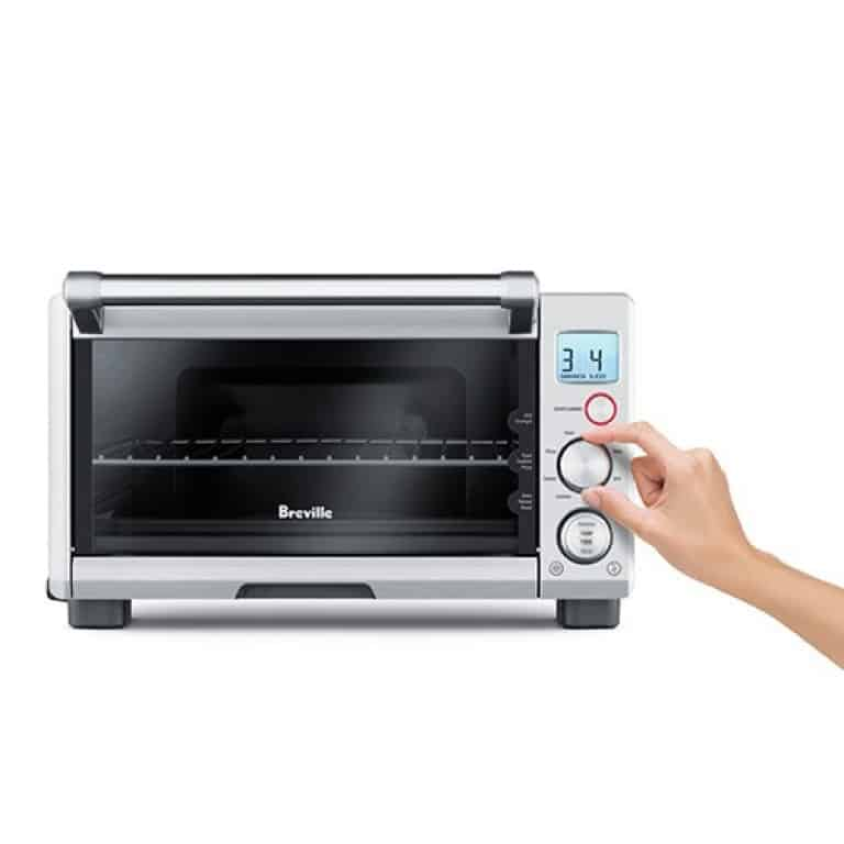 image of Breville BOV650XL Compact Smart Oven In Use