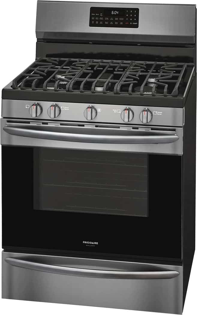image of Frigidaire GCRG3060AD Air Fry Black Stainless Steel range