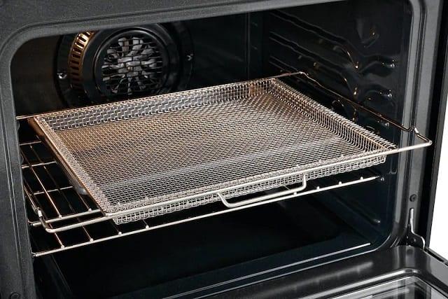 image of Frigidaire GCRG3060AF Air Fry rack inside oven