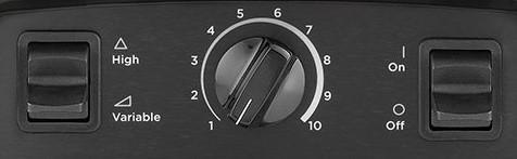 Vitamix 5200 Control Panel image