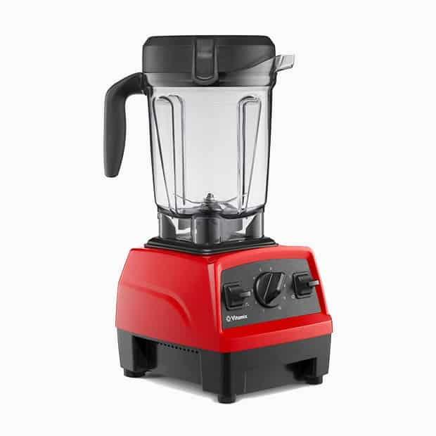 image of the red Vitamix E320 blender