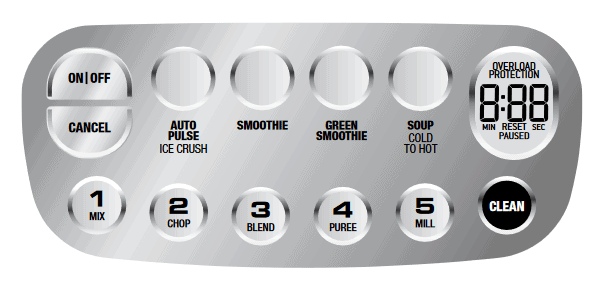 image of Breville Q Control Panel
