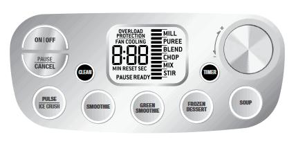 image of Breville Super Q Control Panel