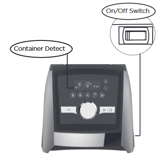 image of Vitamix A3500 On/Off