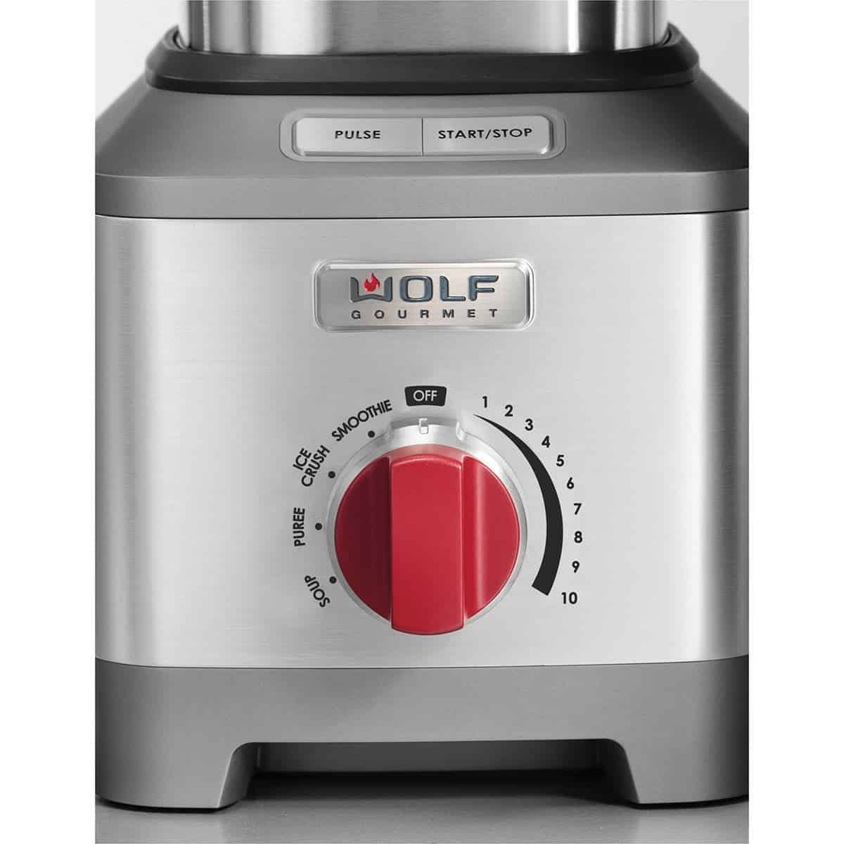 image of Wolf Gourmet Pro Performance Blender control panel